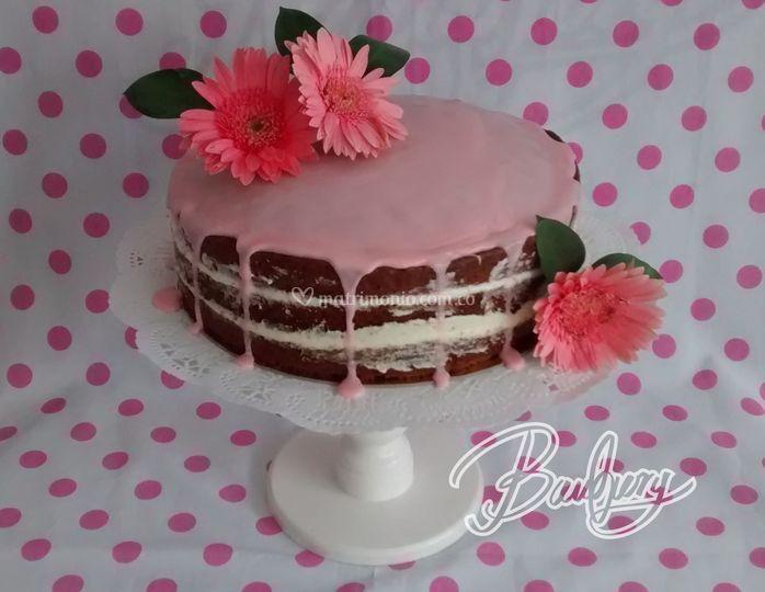 Naked cake cítricos y amapola