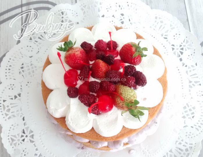 Shortcake frutos rojos