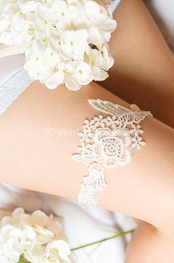Liga de novia angel