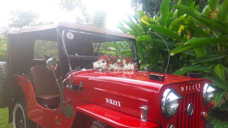Jeep villa juana