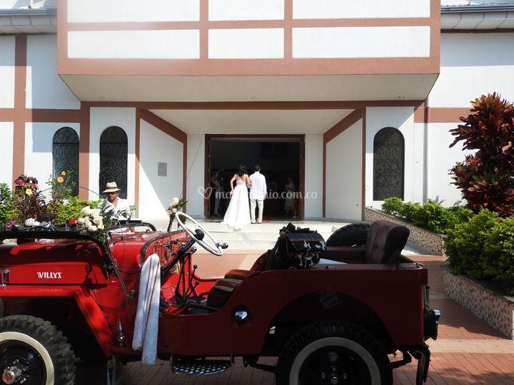 Willys para bodas