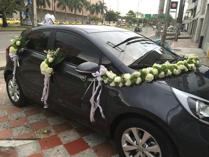 El carro de la novia