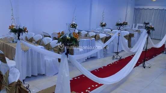 Con ceremonia cristiana