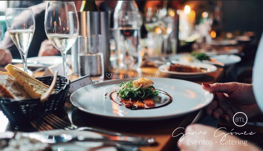 GGinna Gomez eventos catering