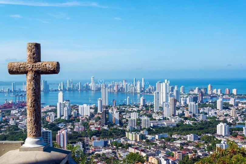 Cartagena desde la popa