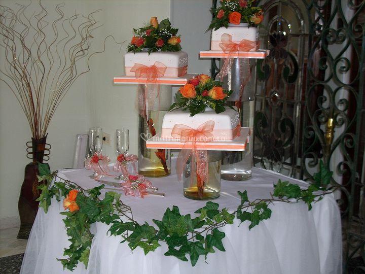 Tipos de torta para bodas