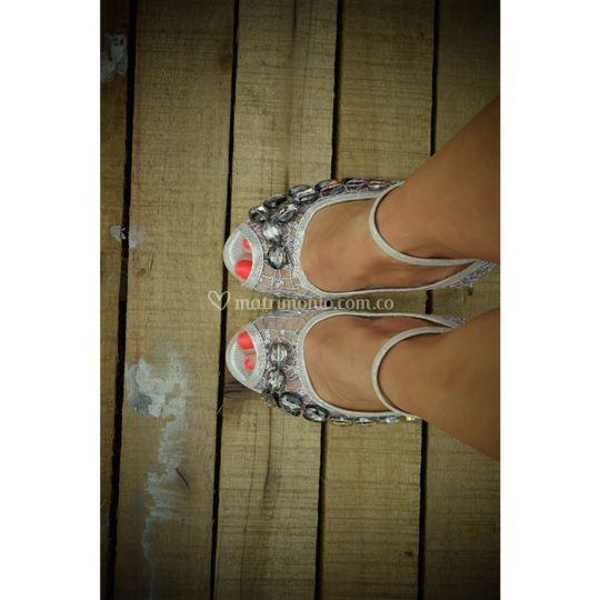 Zapatos de Cristal