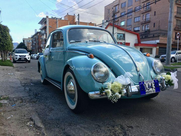 Camino a la boda