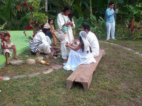 Ceremonia indigena