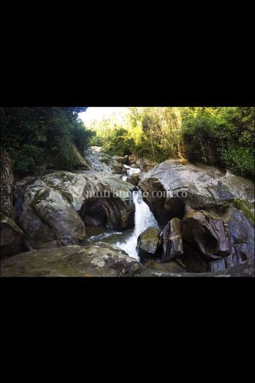 Cascada sagrada