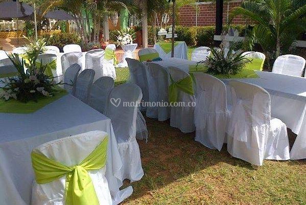 Montaje para bodas