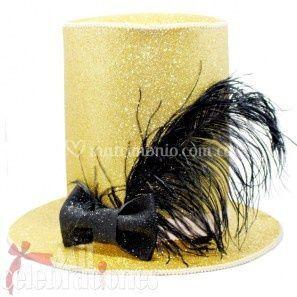 Sombrero novio dorado