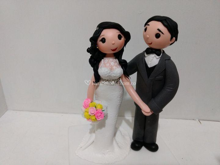 Vintage boda