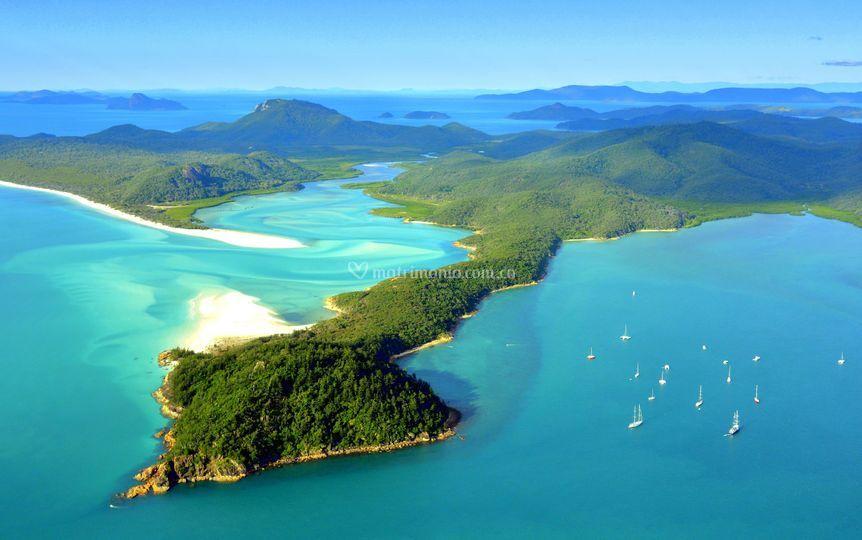 Islas, sol y playa