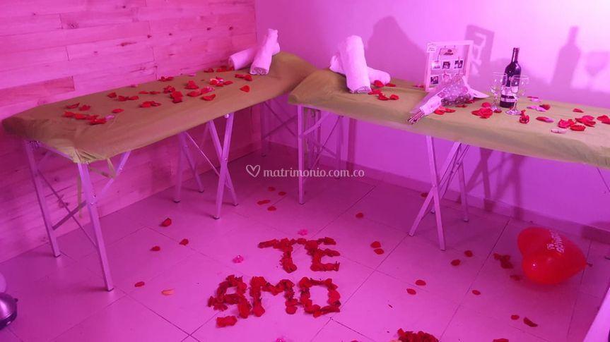 Spa romántico