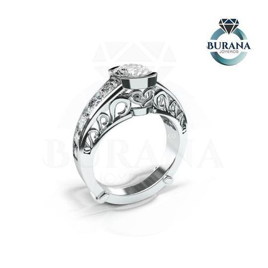 Anillo diamantes n04