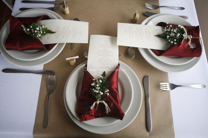 Menú para tu boda
