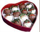 Caja fresas chocolate