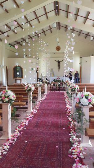 Decoracion capilla