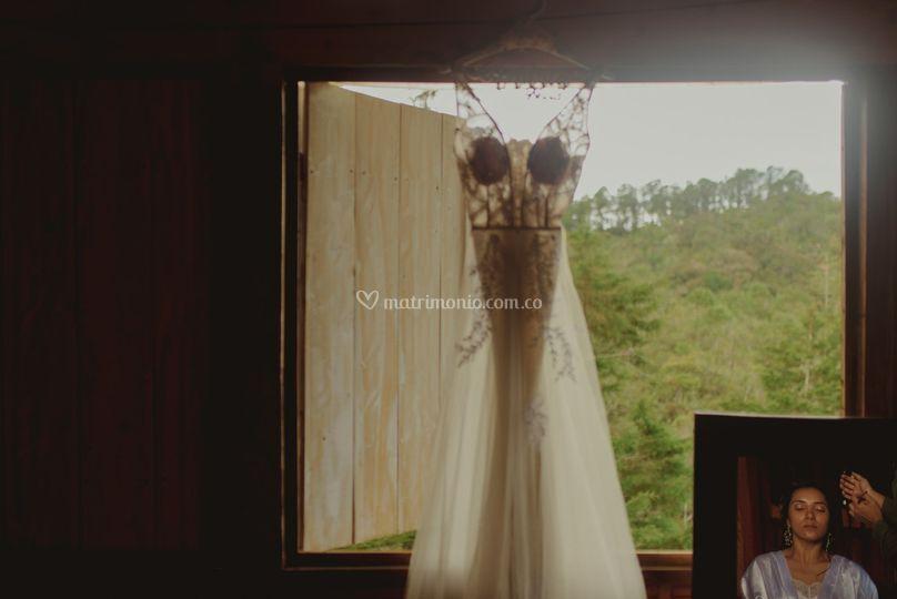Matrimonio en entrebosques