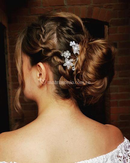 Peinado novia clásica