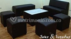 Sala lounge negro