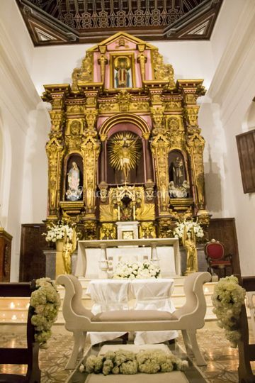 Arreglos altar santo toribio