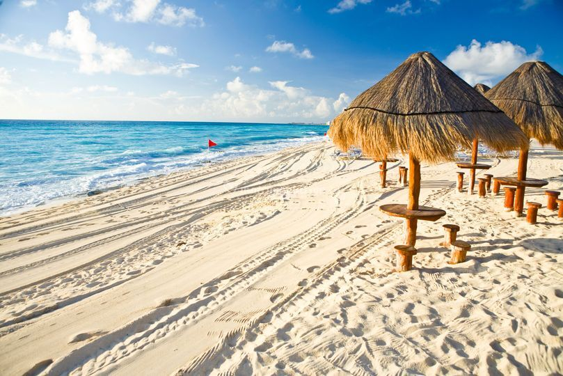Una playa.
