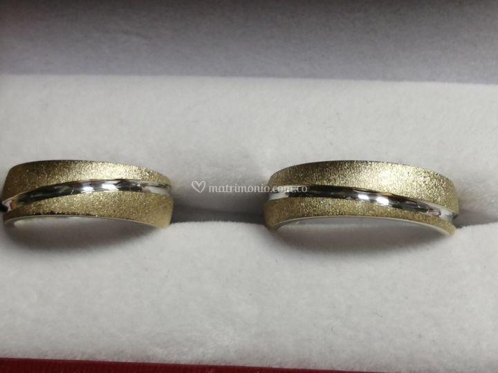 Argollas oro plata especial