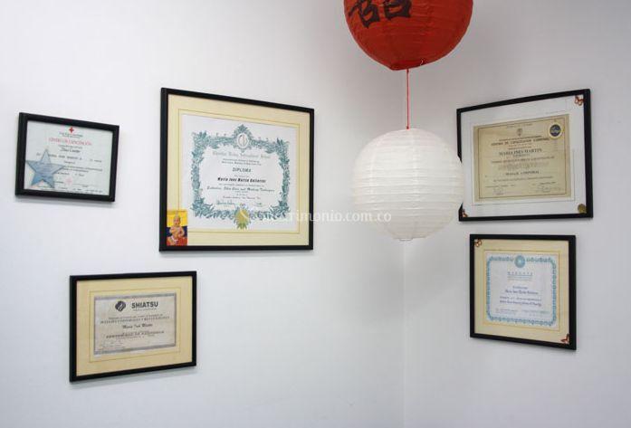 Los diplomas