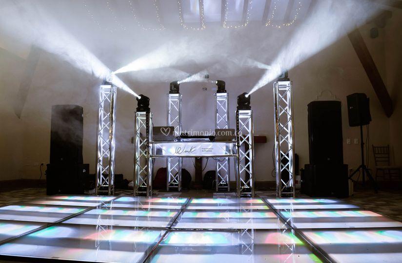 Wink Arquitectura de Eventos