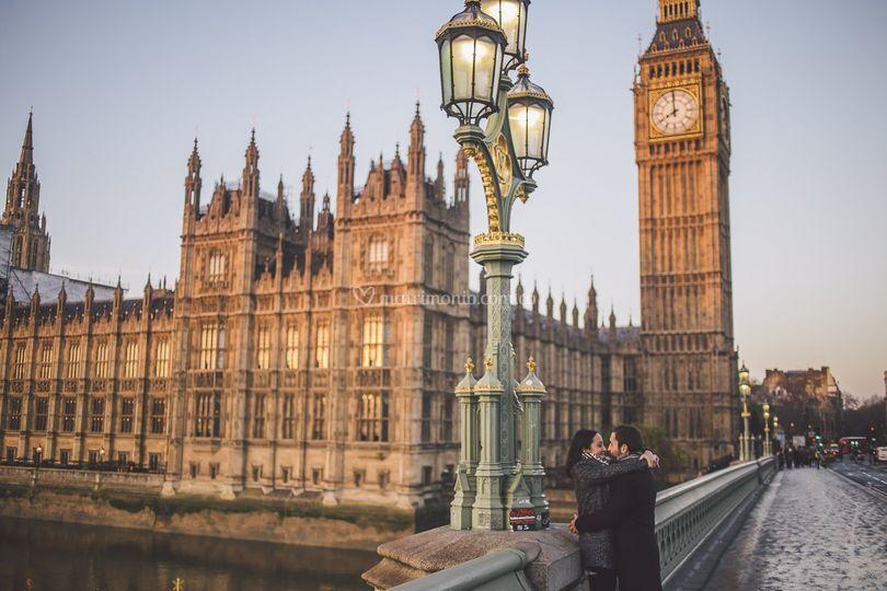 Londres en pareja