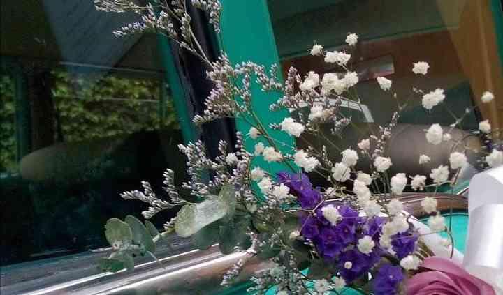 Decoración floral vehículos