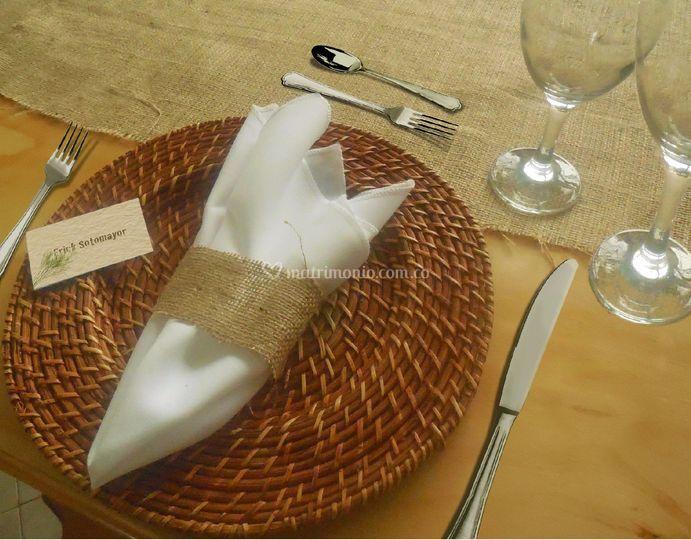 Puesta de mesa