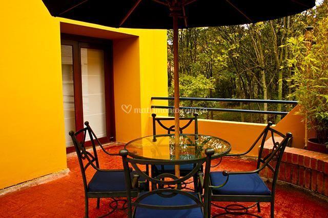 Terraza Habitación Suite