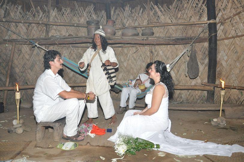 Ritual Kogui, matrimonio