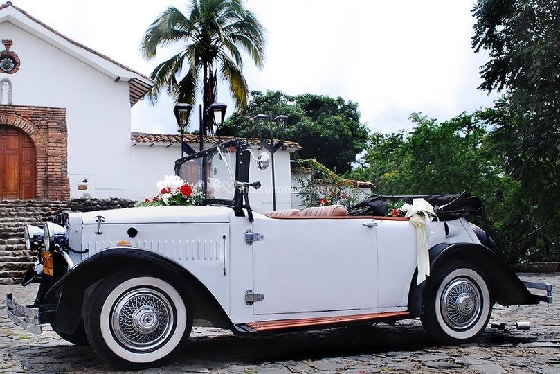 Alquiler Carro Antiguo