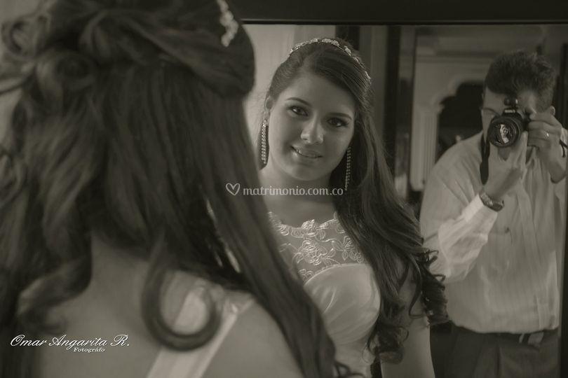 La novia y el fotógrafo