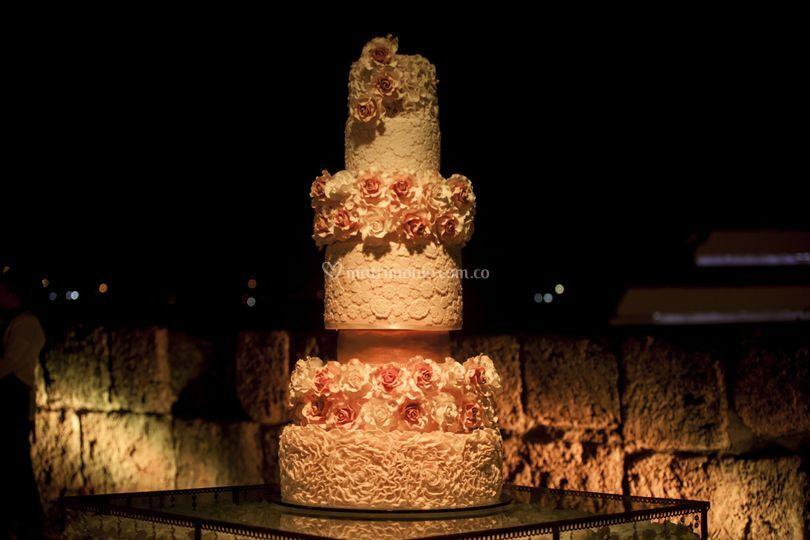 Torta de boda especial