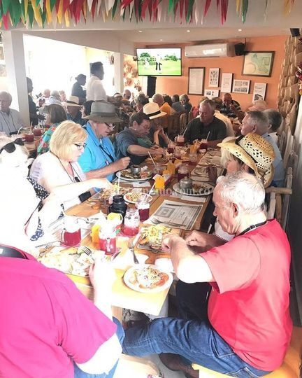 Restaurante lleno