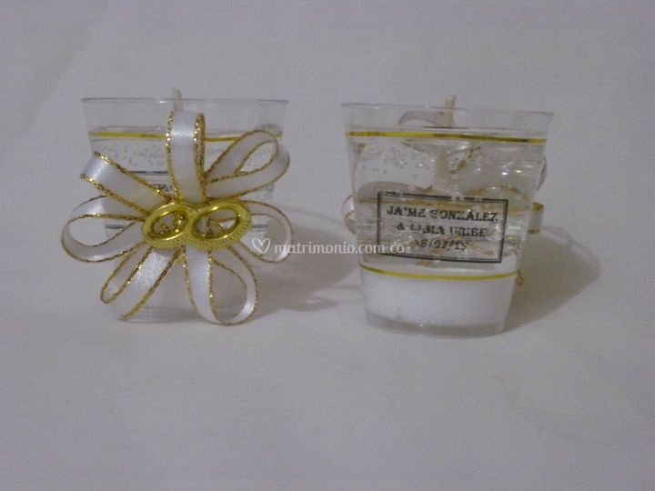 Copas pequeñas de matrimonio