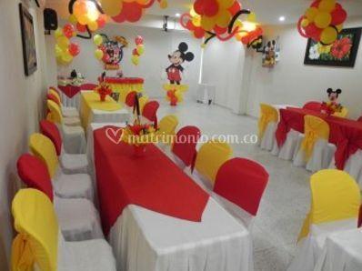 Salón de eventos sociales