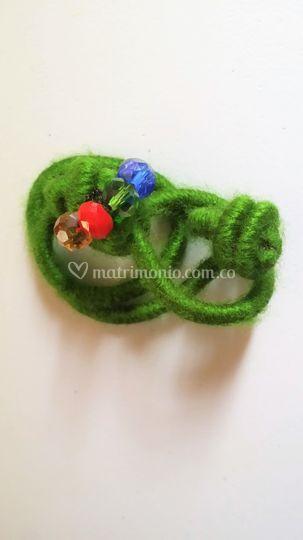 Bamy verde enroscada