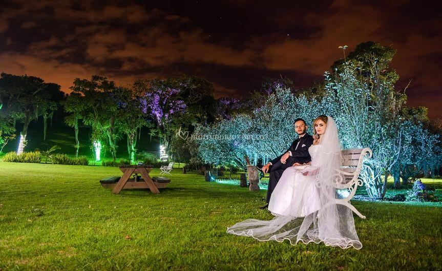 Romántica iluminación