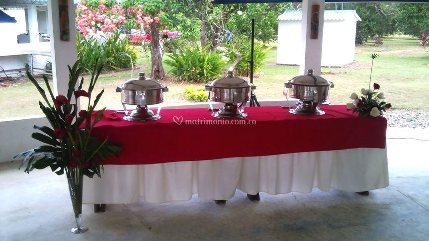 Banquetes y eventos