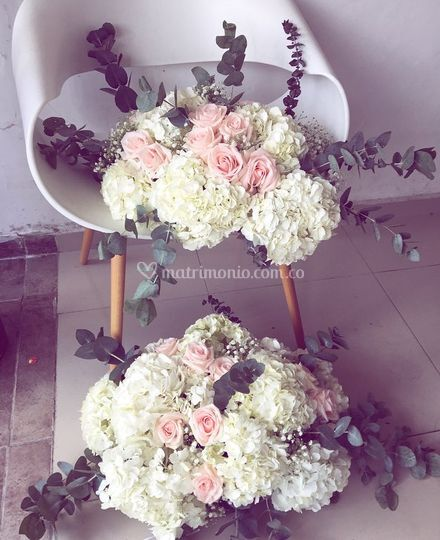 Flores carro nupcial