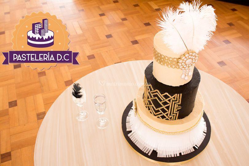 Torta personalizada de boda