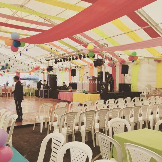 Fiesta empresarial
