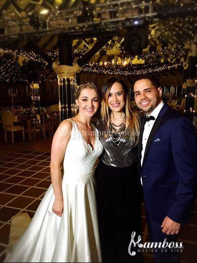 Maria Alejandra y Daniel