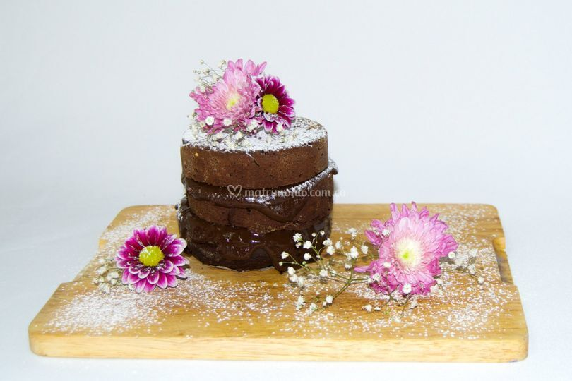 Mini naked cake choco
